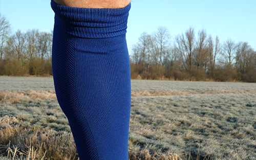 Venous insufficiency is often treated with compression socks