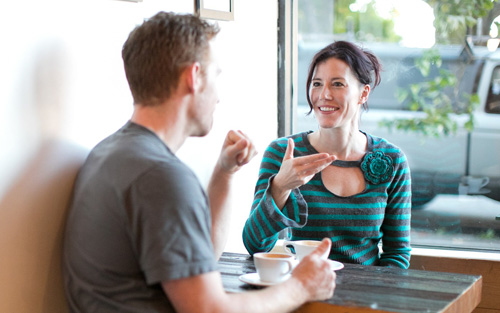 Indoor recreational activities for couples coffee shop