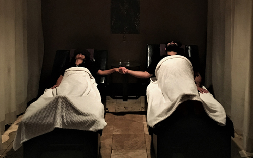 Couples massage fall indoor activities Athens Ga
