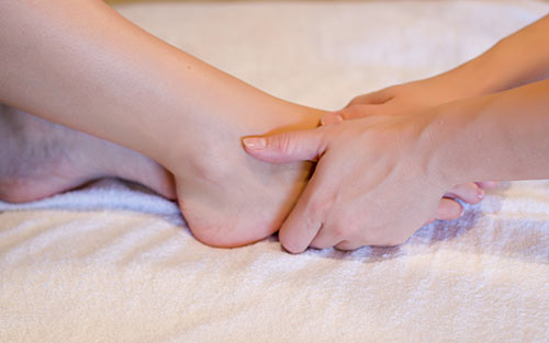 Benefits of regular reflexology massage include stress and anxiety relief