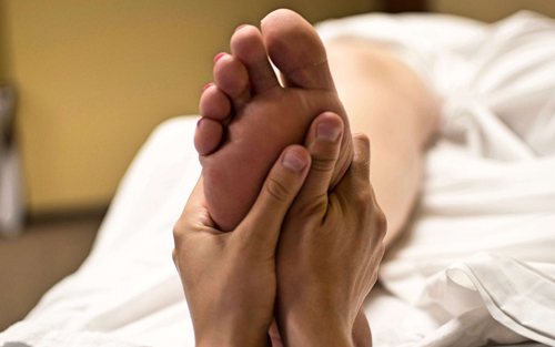 Reflexology in Braselton Ga foot massage