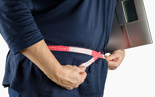 Calculate your weight height and size using a bmi or waist to hip ratio measurement